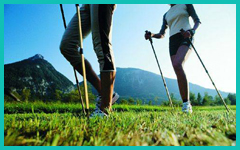 FITNESS NORDIC WALKING